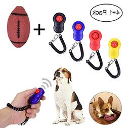 YoungRich Pets Training Set 4 Piece Dog Training Clicker wit