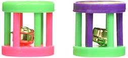Iconic Pet 12 Pieces Plastic Roller with Bell