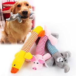 Plush Dog Toys for Aggressive Chewers Squeaky Interactive do