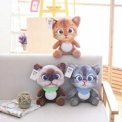 Plush Mini Cat Toys Stuffed Plush Animals Cartoon Cat Doll T