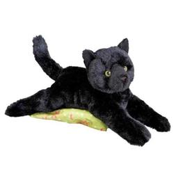Plush TUG Black Cat Soft Cuddly Toy by Douglas Cuddle Toys