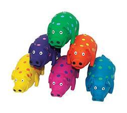 Polka Dot Pig Dog Toy