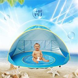 BELUPAI Pop Up Baby Beach Tent, Portable Kiddies Shade Pool