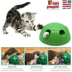 Pop N' Play Interactive Motion Cat Toy Mouse Tease Electro