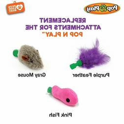 pop n play replacement attachments cat toys