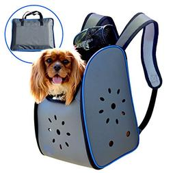 MyDeal Pop Up Pet Carrier Backpack Bag with Weather Resistan