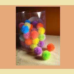 PORCUPINE BALLS CAT TOYS - Asst Lots Colorful Soft Plastic B
