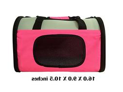 Reelok Portable Soft Sided Airline Approved Dog Carrier Pet