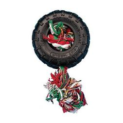 Penn Plax PR8 Tire and Rope Dog Toy