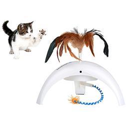 Petacc Practial Cat Interactive Toy Cute Kitten Toy Intellig