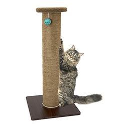 Kitty City Premium Woven Sisal Carpet Scratching Post Fleece
