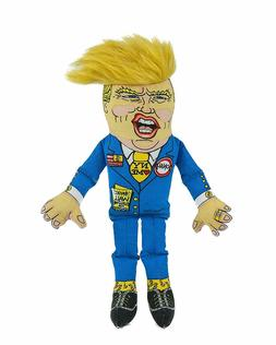 Fuzzu Presidential Parody Donald Small Dog Toy