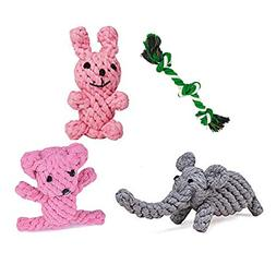 Yitongxing Puppy Chew Toys, Dog Chew Toys Rope Animal Design