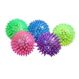 Iuhan 1PC Puppy Dog Cat Pet Hedgehog Rubber Ball Bell Sound