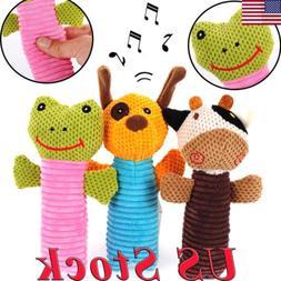 Puppy Dog Chew Toys Sound Cartoon Toy Aggressive Chewers—