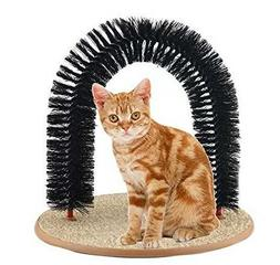 RENZE Purrfect Arch Groom Toy Cat Groom Self Grooming Cat To