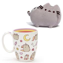 Gund Pusheen The Cat Magical Pusheenicorn Mug and 6 inch Gre