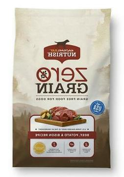 Rachael Ray Nutrish Zero Grain Natural Beef, Bison, & Potato