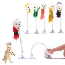 Random Colour Plastic <font><b>Cat</b></font> <font><b>Toys<