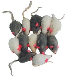 Rattling Fur Mice - 12 pack