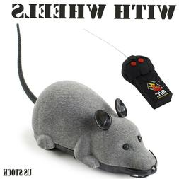 RC Mouse Toy Wireless Electronic Remote Control Mice Rat Pet
