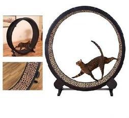 Cat Exercise Wheel Toy Play Kitty Running Indoor Treadmill I