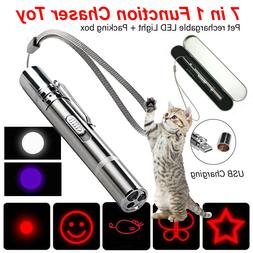 rechargeable cat chaser toy 7 in 1