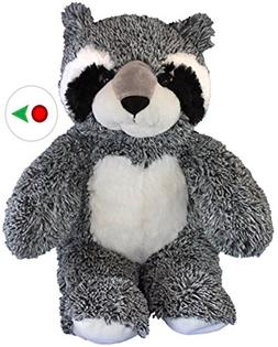Record Your Own Plush 16 inch Bandit the Raccoon - Ready To