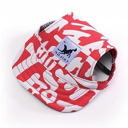 RLgoods Rock Punk Style Dog Cap Eye Protection Sun Hat Summe