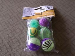 Our Pets  Rollin' In Fun Interactive Cat Toys Assorted 6 Pie