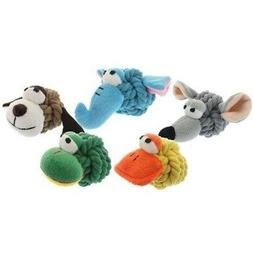 rope head mouse dog toy