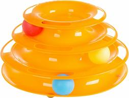 Petmaker Round Interactive Ball Tower Cat Toy
