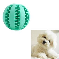 Delight eShop Rubber Ball Chew Treat Dispensing Holder Pet D