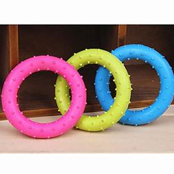 Fashion Life Rubber Pet Cat Round Circle Puppy Play Funny Ch