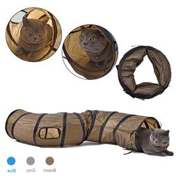 """""""S""""Funny Pet Tunnel <font><b>Cat</b></font> Play Tunnel Brow"""