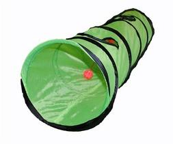 New S4O Kitty Cat Play Tunnel Pet Toy - Four Exit Holes - 4