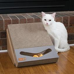 K&H Pet Products Scratch, Ramp and Track Cardboard Cat Scrat
