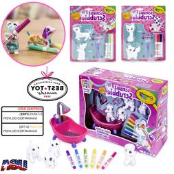 Crayola Scribble Scrubbie Toy Pet Playset Kids Fun Gift Colo