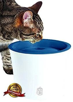 Catit Design Senses Drinking Fountain, With Water Softening