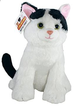 "Shelter Pets Series One: Nibbles The Cat - 10"" White and Bla"