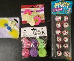 Assorted Multi-Packs of Cat Toys