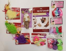 Assorted Fun Cat Toys  ~ Your Cat Will Never Be Bored
