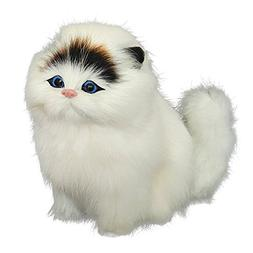 Simulation Cat Toy with Sound Artificial Plush Vocal Animal