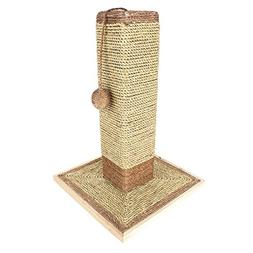 """19"""" Natural Sisal Cat Scratching Post with Ball Toy by Weebo"""