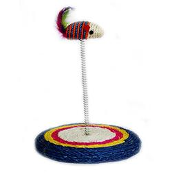 Kathson Sisal Coil Cat Scratching Post Cat Tree Spring Toys