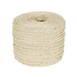 Yinrunx 3M/5M sisal rope for cats scratching post toys makin