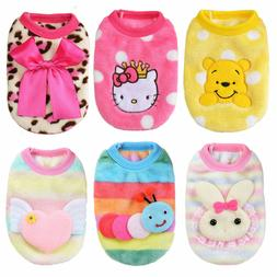 Size XXXS XXS X Small Girl Female Dog Clothes for Cat Toy Te