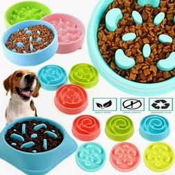 slow feeder dog bowl anti bloat non