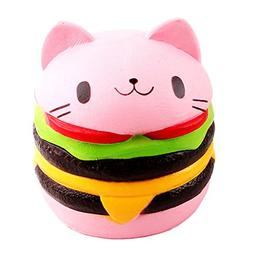 dds5391 1 Piece 4.5inch Slow Rising Kawaii Squishy Cat Hambu