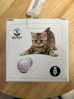 YOFUN Smart Cat Toy Ball. White